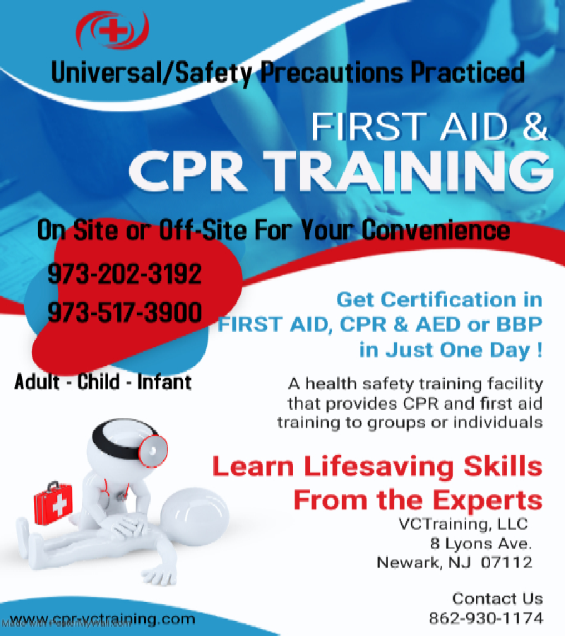Blue Home Health Care Certification Flyer